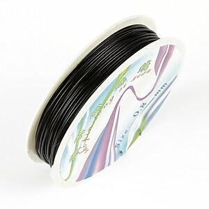 Sarma de modelaj neagra, grosime 0,8mm, rola 3,5m