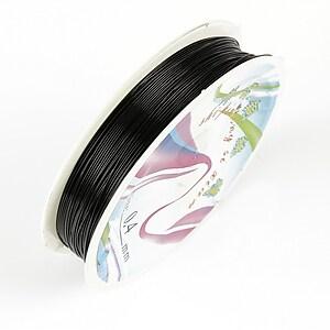 Sarma de modelaj neagra, grosime 0,4mm, rola 14m