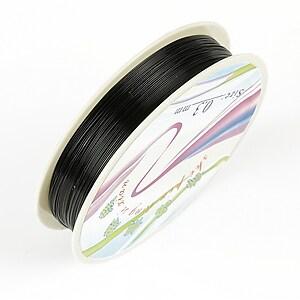 Sarma de modelaj neagra, grosime 0,3mm, rola 25m