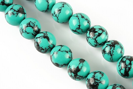 Compozit verde-negru sfere 12mm