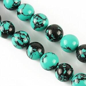 Compozit verde-negru sfere 10mm