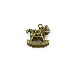 Charm bronz calut balansoar 17x16mm