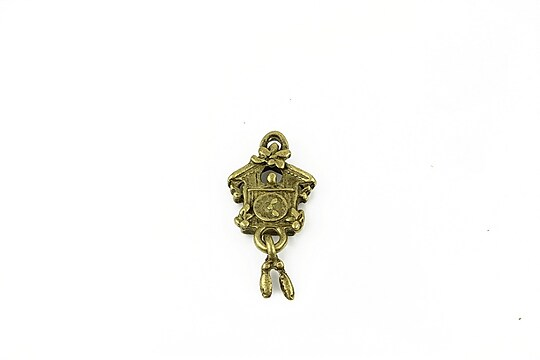Charm bronz ceas 25x12mm