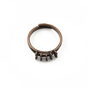 Baza de inel cupru, reglabila, 10 bucle