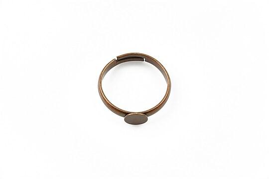 Baza de inel cupru, reglabila, platou 6mm