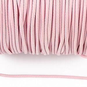 Snur cerat grosime 2mm, roz deschis (1m)
