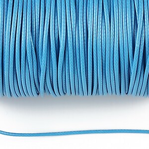 Snur cerat grosime 1,5mm, albastru (1m)