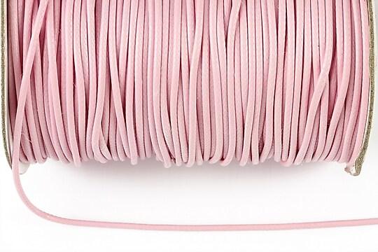 Snur cerat grosime 1,5mm, roz deschis (1m)