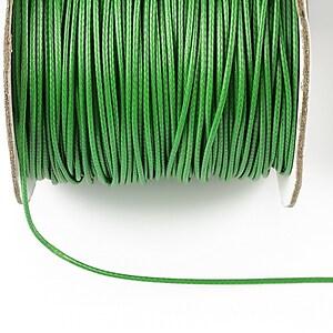 Snur cerat grosime 1mm, verde (1m)