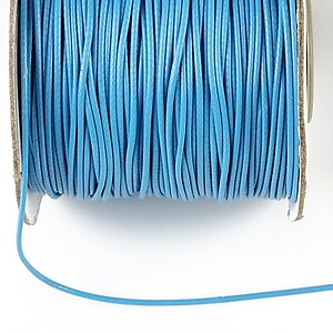 Snur cerat grosime 1mm, albastru (1m)
