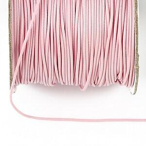 Snur cerat grosime 1mm, roz deschis (1m)