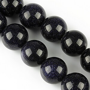 Blue Goldstone sfere 14mm