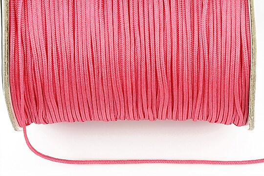 Snur nylon grosime 1,4mm (1m) - roz