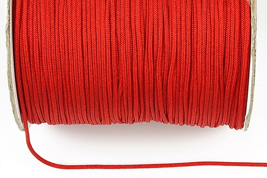 Snur nylon grosime 1,4mm (1m) - rosu