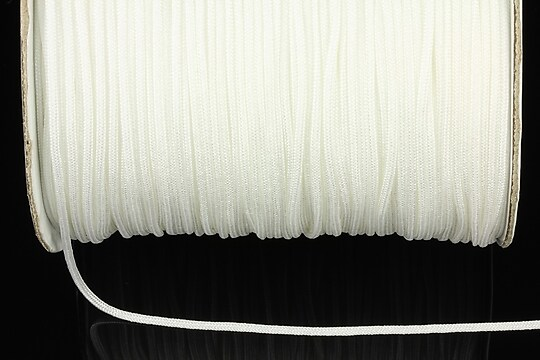 Snur nylon grosime 1,4mm (1m) - alb
