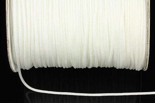 Snur nylon Taiwan grosime 1,4mm (1m) - alb