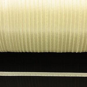 Snur saten latime 3mm (1m) - galben deschis