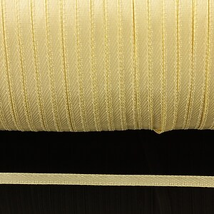 Snur saten latime 3mm (1m) - bej