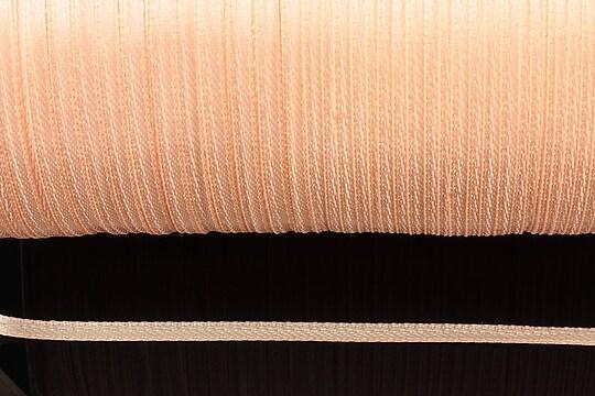 Snur saten latime 3mm (1m) - roz somon