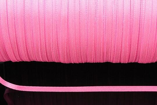 Snur saten latime 3mm (1m) - roz