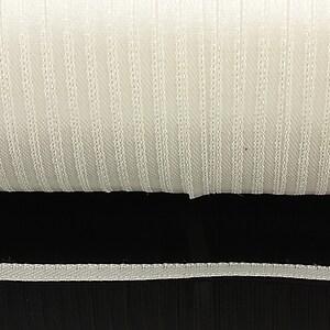 Snur saten latime 3mm (1m) - alb-galbui