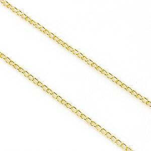 Lant auriu 1,6x3mm (49cm)