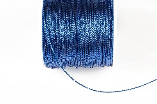 Snur metalic 0,8mm (1m) - albastru