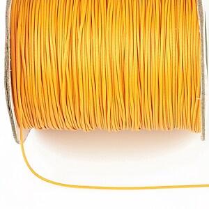 Snur cerat grosime 0,8mm, galben porumb (1m)