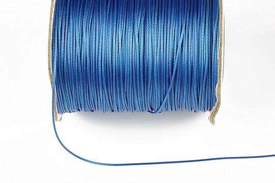 Snur cerat grosime 0,8mm, albastru (1m)