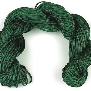 Ata nylon, grosime 1mm, 28m,  verde inchis