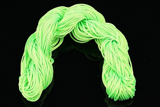 Ata nylon, grosime 1mm, 28m, verde deschis