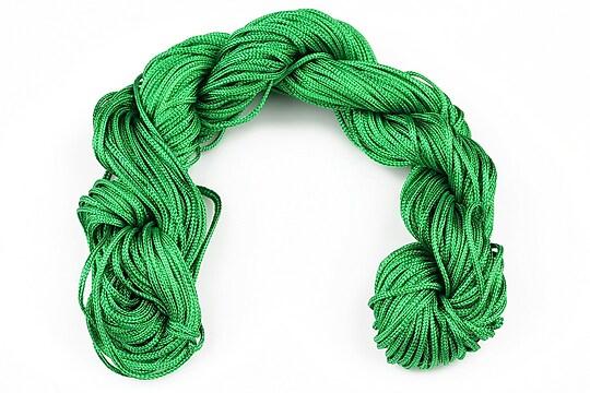 Ata nylon, grosime 1mm, 28m, verde iarba