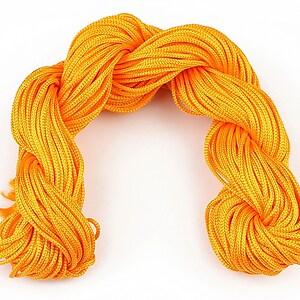 Ata nylon, grosime 1mm, 28m, orange