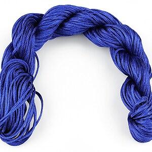 Ata nylon, grosime 1mm, 28m, albastru cobalt