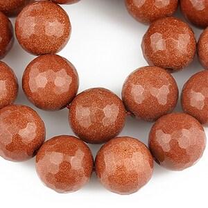 Goldstone sfere fatetate 12mm