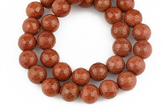 Goldstone sfere fatetate 8mm