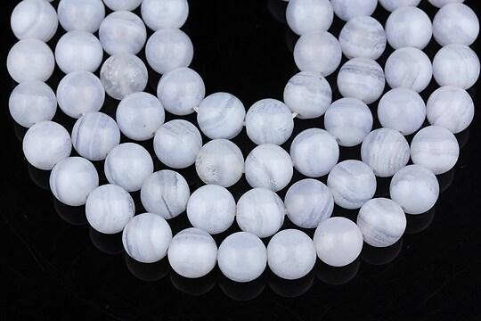 Calcedonie sfere 6mm