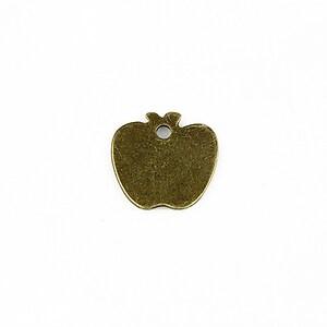 Charm bronz mar 15x15mm