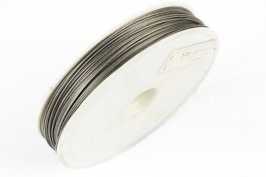 Sarma siliconata argintie grosime 0,50mm, rola de 50m