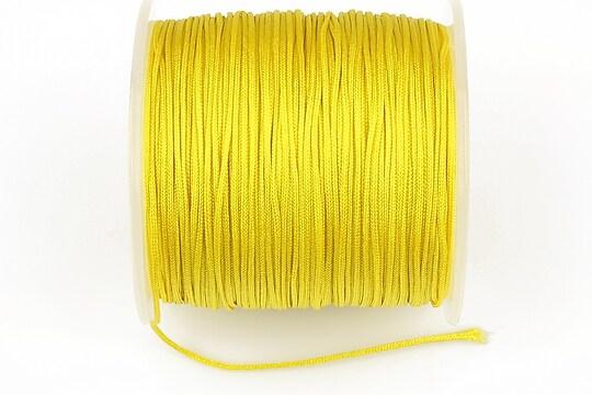 Snur Shamballa Dandelion grosime 1mm, rola de 100m - galben