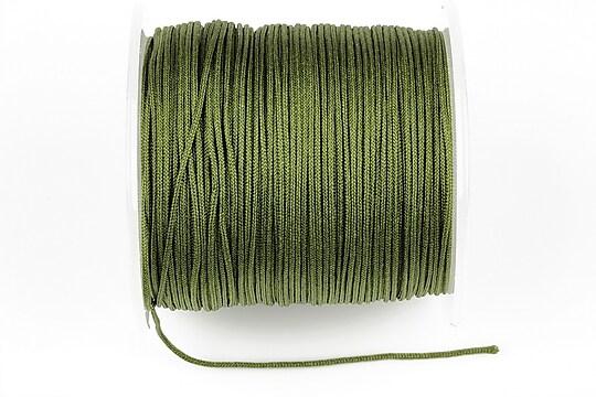 Snur Shamballa Dandelion grosime 1mm, rola de 100m - kaki