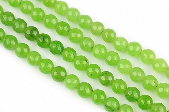 Jad verde mar sfere fatetate 6mm