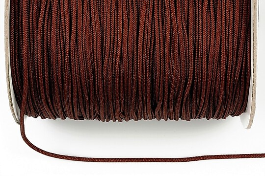 Snur nylon grosime 1,4mm (1m) - maro inchis