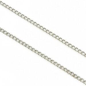 Lant argintiu inchis 2,5x2mm (49cm)