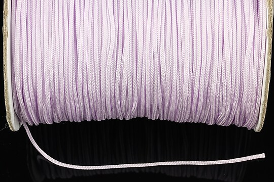 Snur nylon Taiwan grosime 1,4mm (1m) - lavander blush