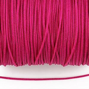 Snur nylon Taiwan grosime 1,4mm (1m) - magenta