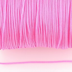 Snur nylon Taiwan grosime 1,4mm (1m) - deep pink