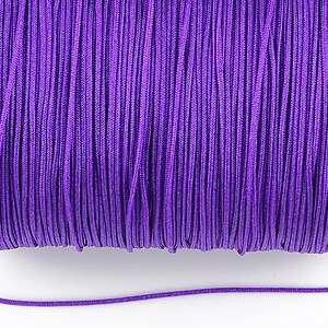 Snur nylon Taiwan grosime 1mm (1m) - mov
