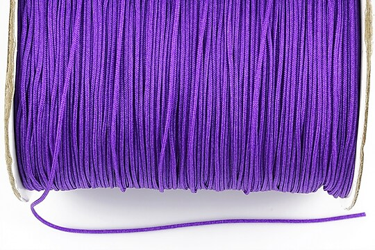Snur nylon Taiwan grosime 1mm (1m) - mov