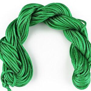 Ata nylon, grosime 2mm, 12m, verde